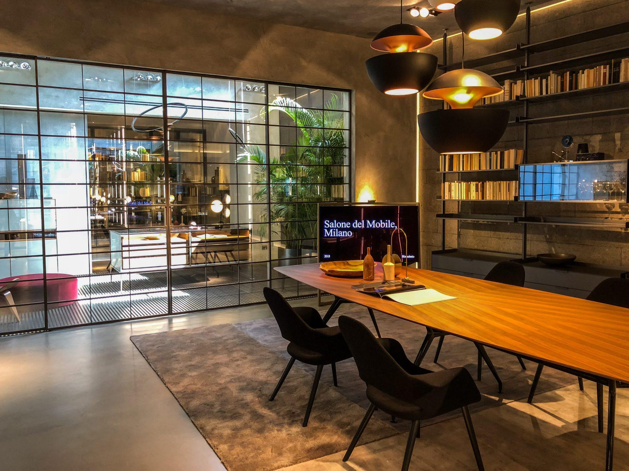 Rimadesio Salon del Mobile de Milano 2018